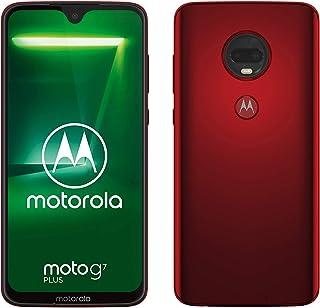 Motorola Moto G7 自动 黑色PADU0017IS  Moto G7 Plus 红色