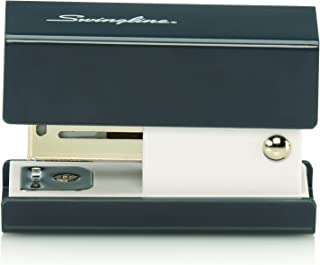 Swingline Mini Fashion Stapler, 12 Sheets, Black (S7087871)