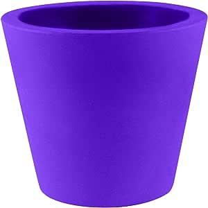 Vondom 锥形涂漆锅,17-3/4 x 15-1/4 英寸,紫红色