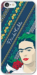 Ish 原装官方 Frida Kahlo Rose 手机壳/外壳纤薄柔软 TPU 适用于苹果 iPhone 7/7 Plus/ 8/8 Plus 和 X Apple iPhone 8 粉红色