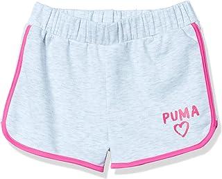 Puma 女童法蘭絨短褲