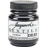 Jacquard Products Jacquard Textile Color Fabric Paint, 2.25-Ounce, Black