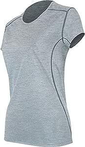 AYG 女式 Micro H1 短袖圆领休闲衬衫 中 1H36S-062-M