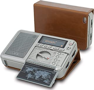 Eton Executive Traveler Audio Component Receiver, Grey (NGWTIIIEXEC), Black