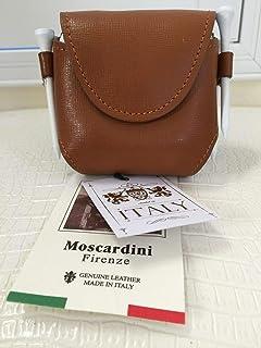 Moscardini Firenze 意大利真皮 4X 高尔夫球高尔夫球 T 恤盒套