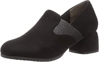 Tean 浅口鞋 TN1754_BLA-S_23 女士 黑色绒面 23.0 cm 2_e
