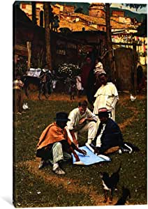 "iCanvasART The Peace Corps in Bogota, Colombia Canvas Print by Norman Rockwell, 18"" x 12""/1.5"" Deep"