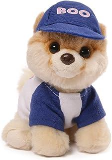 Gund 毛絨萌犬 Boo #31 身著棒球服的毛絨狗