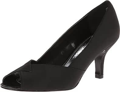 Easy Street 女士 Ravish 正装单鞋,Black Peau,9 WW US