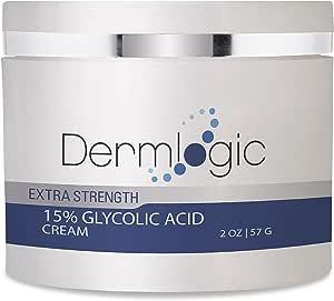 羟基酸 15% 奶油 - 天然*去角质霜,抚平细纹和皱纹,改善暗沉肤色。 包括用于脸部和身体的 Alpha Hydroxy 酸和绿茶保湿霜。