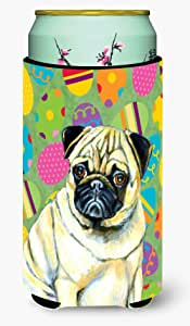 Pug Easter Eggtravaganza Michelob Ultra Koozies for slim cans LH9432MUK 多色 Tall Boy