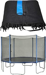 Upper Bounce 8 ft Trampoline Enclosure Safety Net Fits