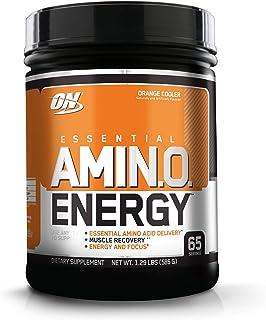 Optimum Nutrition 欧普特蒙 必需氨基酸能量,酷橙味,运动前补充必需氨基酸,含绿茶和生咖啡提取物,65份