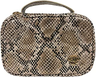 PurseN Tiara Mini Jewelry Case Python