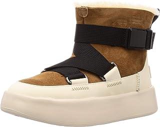 UGG 女士 W Classic Boom Buckle 短靴