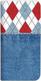 Mitas HUAWEI honor8 FRD-AL 手机壳 手账型 无带 牛仔裤 牛仔布 转换 切换 C (317) NB-0283-C/FRD-AL