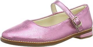 Clarks Drew Sky K 女童版 系带芭蕾舞鞋