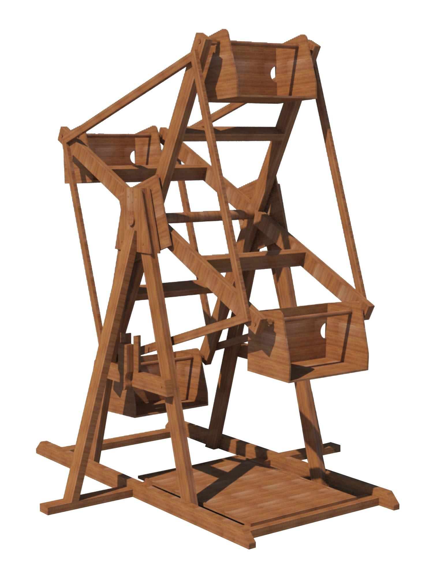 摩天轮计划后院 8 英尺 DIY 户外游乐场儿童玩具木工