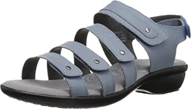 Propet 女式 AURORA 凉鞋 牛仔色 8.5 4E US