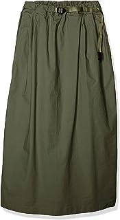 Grammach 长款荷叶边裙 WEATHER LONG FLARE SKIRT 女士