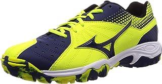 MIZUNO 美津浓 手球鞋 WAVE GUIA 3 イエロー×ネイビーホワイト 22.5 cm 3E