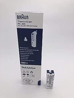 Braun 博朗 PRO 6000系列 耳温枪 替换头 一盒 200 支