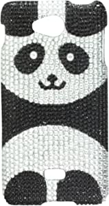 MyBat LGMS870HPCDM296NP Dazzling Diamond Bling Case for LG Spirit MS870 - Retail Packaging - Playful Panda