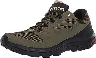 Salomon 萨洛蒙 男式徒步鞋 Burnt Olive/Black/Safari 9