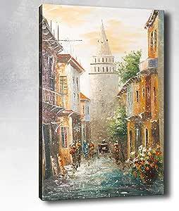 博纳马斯油画,多色,70x100