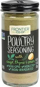 Frontier Poultry Seasoning, 1.34-Ounce Bottle