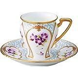 Noritake 罩杯_蘇打 多色 180ml 棋盤收藏 咖啡碗碟 (彩金彩玫瑰文) T52520/H-882