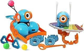 Wonder Workshop – Dot and Dash 機器人 奇跡套裝 適合6歲以上兒童 – STEM 學習捆綁裝 – 基于塊的編碼學習 –數字學習 – 挑戰時間