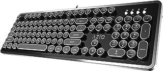 Azio Mk Retro USB 接口复古打字机机械键盘(键盘布局可能非常规)