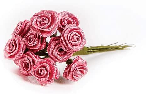 Darice Ribbon Roses 各种颜色和形状 #3573-40-ribbon-rose-mauve-1/2-in. DRC13573-401MP