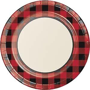 "Creative Converting 321824 96 支坚固风格的甜点/小号纸板 Banquet Paper Plates 10.25"" 321826"