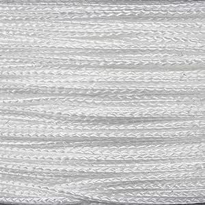 Craft County 纳米和微线 - 通用,适合各种工艺需求 - 选择大量颜色 - 轻量编织线 - 300/125 英尺线轴 - 0.75 毫米/1.18 毫米直径 白色 micro AWR-MICRO-WHITE-~CRAFT_RM