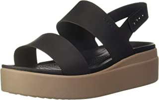 Crocs 卡骆驰 女孩 Brooklyn 低坡跟 W 人字拖休闲时光和运动鞋