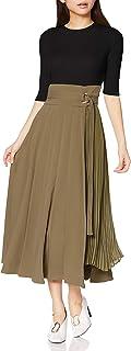 SNIDEL 上下身拼接款百褶针织连衣裙 女士 SWNO201055