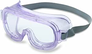 Uvex S360 Classic Safety Goggles, Clear Body, Clear Uvextreme Anti-Fog Lens, Indirect Vent