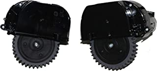 BIRETDA 原装左右轮适用于 Ilife V3spro、V5spro、V50、V55Pro、V50Power、V5X 机器人吸尘器部件包括电机替换件 couple