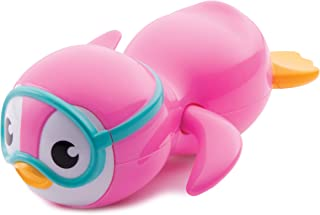 Munchkin 满趣健 上弦游泳企鹅沐浴玩具,粉色