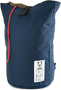 ChipmunkBags 洗衣背包,耐用洗衣袋,适合大学生和城市居民