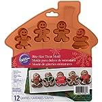 Wilton Gingerbread Boy 硅胶模具