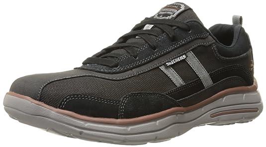 Skechers 斯凯奇 USA系列 时尚绑带 轻质男款休闲鞋