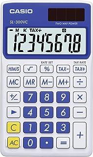 Casio Inc. SL-300VC-PK 标准函数计算器 蓝色
