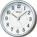 SEIKO CLOCK (セイコークロック) 目覚まし時計 アナログ ELバックライト 薄金色パール KR895S