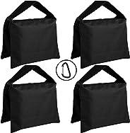 ABCCANOPY SANDBAG SADDLEBAG 设计 4 重袋适用于照片视频工作室支架stripe black weight bag 黑色