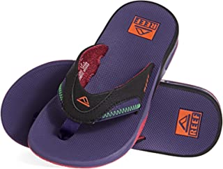 Reef 男士 Leather Fanning 凉鞋