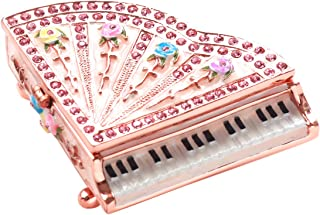 PIEARTH 首饰盒 钢琴样式(粉色) EX565-1
