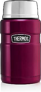 Thermos 膳魔师 不锈钢食物瓶,覆盆子色,710毫升